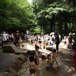 林試の森 ジャブジャブ池