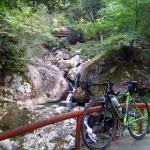 三郎の滝サイクリング