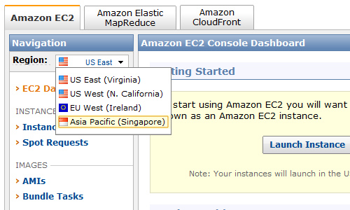 Amazon EC2 シンガポール上陸!