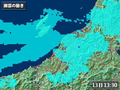 佐渡ロングライド2010の天気 50%→30%→20%!