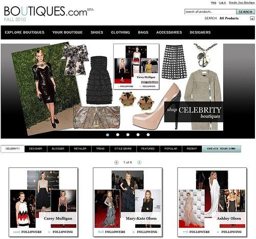 Googleが始めたファッションサイトBoutiques.comをチェックしてみた