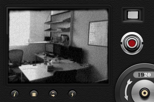 iPhoneアプリ「8ミリカメラ」がいい味出してるよ~