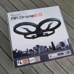 AR.Drone 2.0 が届いた!飛ばした!