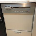 クリスマスなのに食器洗い乾燥機 NP-P45V2PS が排水不良。