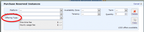 Amazon EC2 Reserved InstanceのOffering Typeって