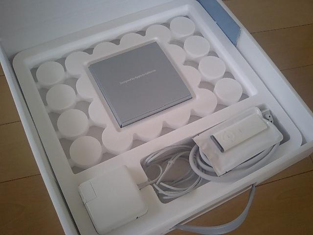 macbook到着。