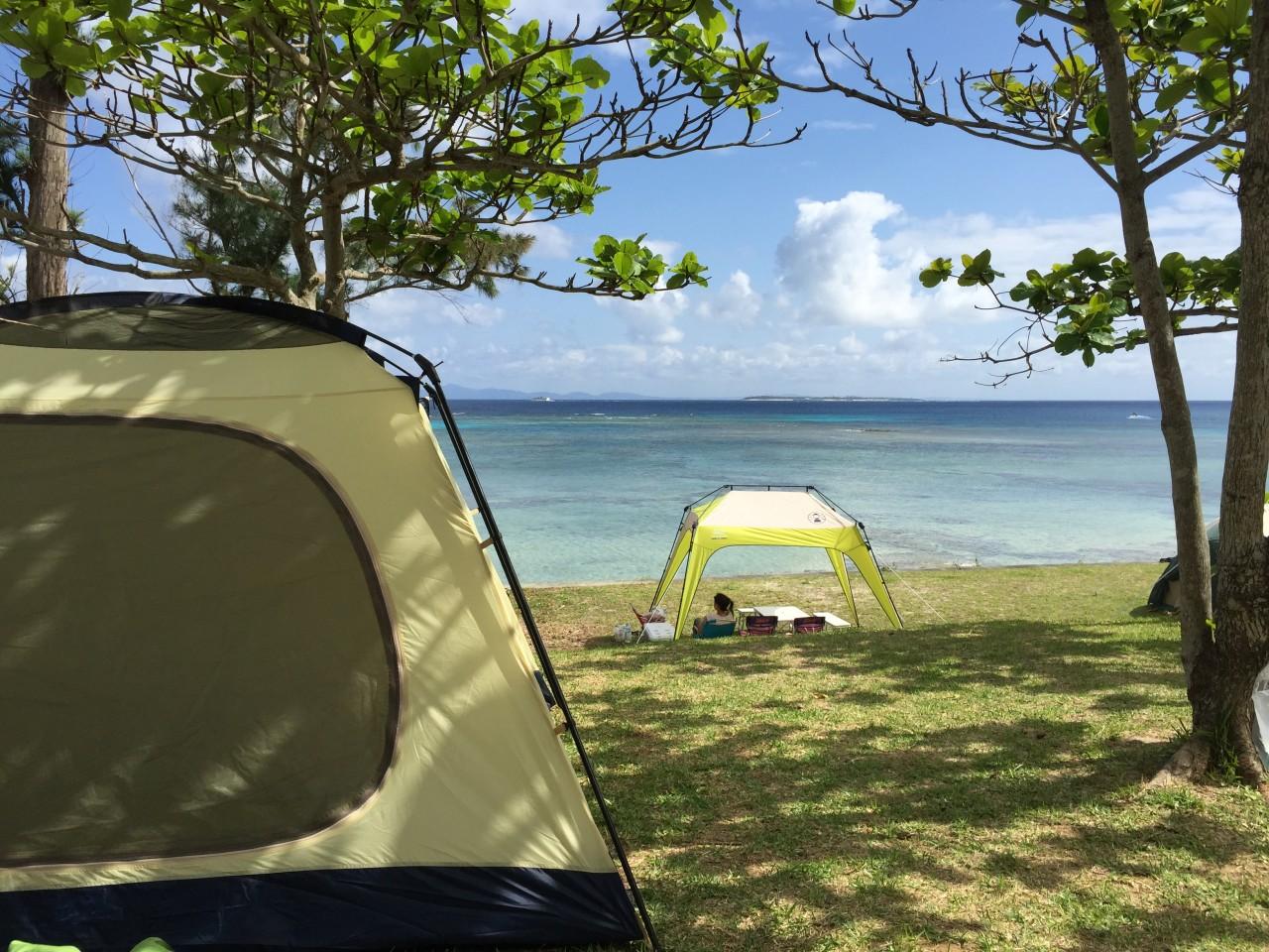 ゴールデンウィーク2015 伊江島でキャンプ!