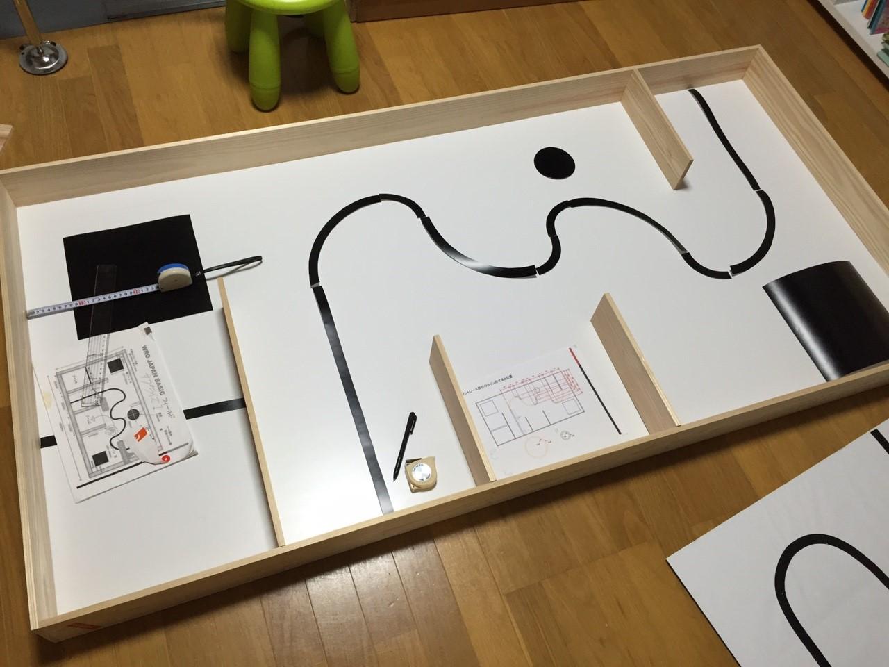 WROJapan2015ベーシック競技のコースを作ってみた。