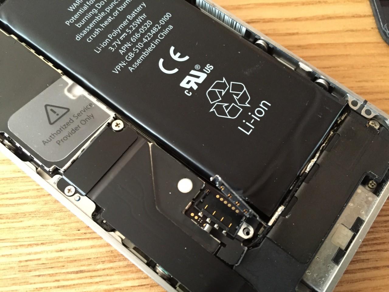 iPhoneバッテリー交換してみた