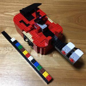 EV3でバイオリン風楽器を作った(娘達が)