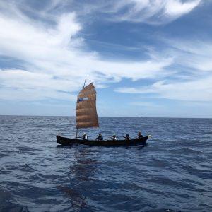 第19回 サバニ帆漕レース に参加したよ
