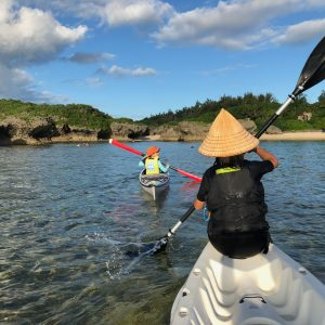 Weekend sea kayaking