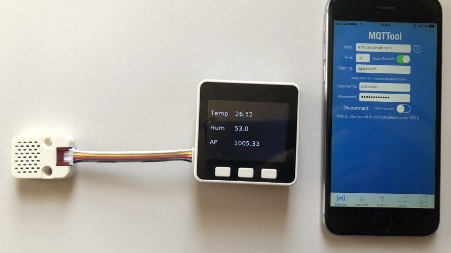 M5GO IoT Starter Kitを触ってみた